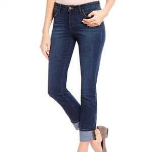 Jessica Simpson Arrow Straight Dark Wash Jeans